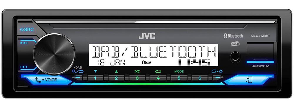 JVC KD-X38MDBT