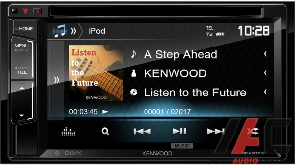 Автомагнитола Kenwood DDX-318BT