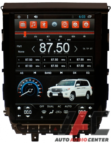 "AudioBeat TOYOTA LAND CRUISER 200 2016- 12.1"" IPS 2GB/32GB Android 7.1"